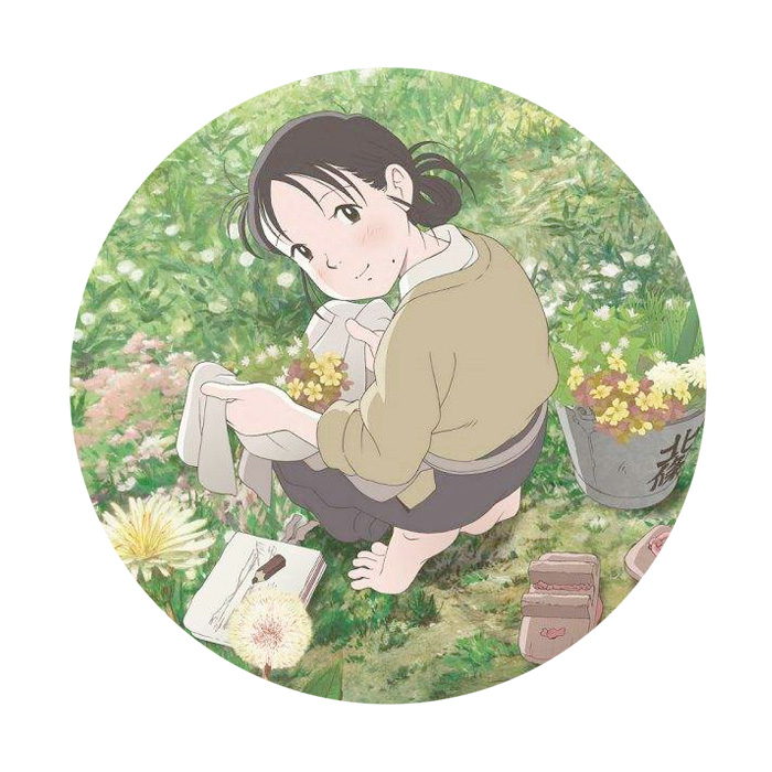 """Quick costume change. Paint me, manga. A different kind of time machine awaits with film 51,   IN THIS CORNER OF THE WORLD   (D Sunao Katabuchi).  """"I knew I wanted to become a visual storyteller first and I feel that I was able to discover that animation was the most interesting way to tell stories. Because we recreated a world that once existed, the audience sees more and more details every time they re-watch the film that leads to the discovery of different emotional experiences and perspectives. For those who are seeing In This Corner of the World for the first time, I hope they will see it more than once. By doing so, they will be able to experience the world and society that once existed in a very raw way. I'd like to think that In This Corner of the World is like a time machine where you can experience life and a culture of a different time."""" —Sunao Katabuchi"""