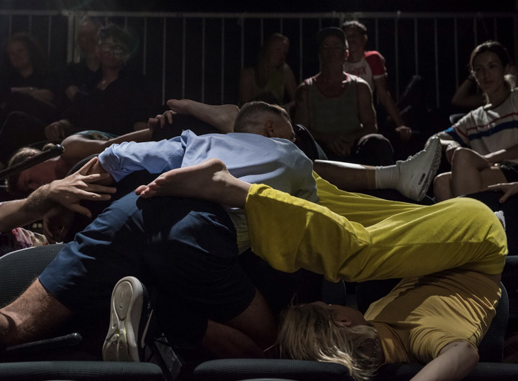 Luke George's  Public Action , KCA, Dancehouse, by Gregory Lorenzutti