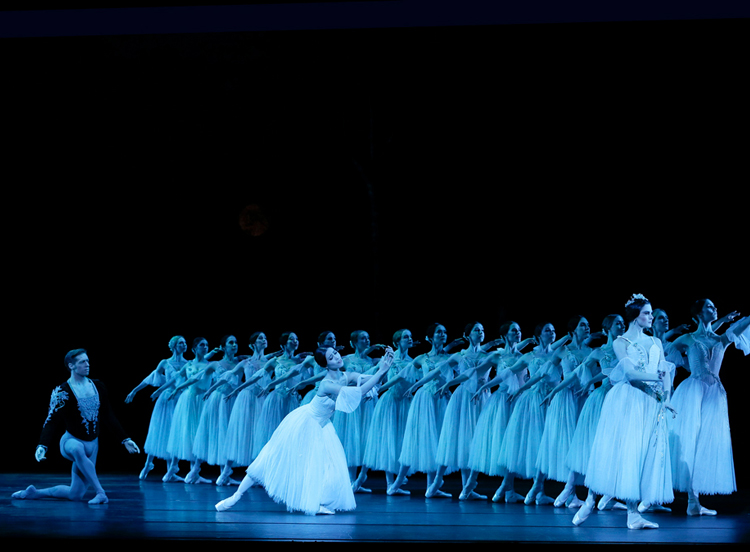 Ako Kondo, Ty King-Wall, Valerie Tereshchenko and artists from The Australian Ballet perform  Giselle , 2018, photographed by Jeff Busby