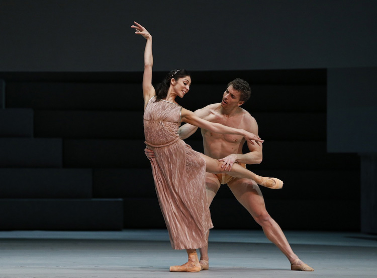 Robyn Hendricks and Kevin Jackson from The Australian Ballet perform  Spartacus , 2018, photographed by Jeff Busby