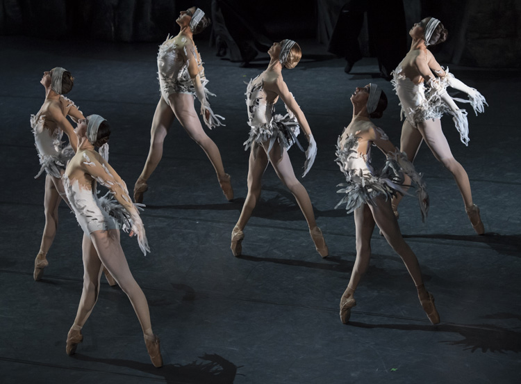 Les Ballets de Monte-Carlo in Jean-Christophe Maillot's  LAC , photographed by Alice Blangero