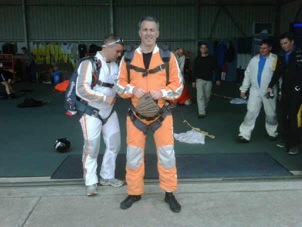 '07 Berlin Skydiving