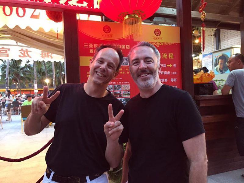 '15 China Sanya with Willem