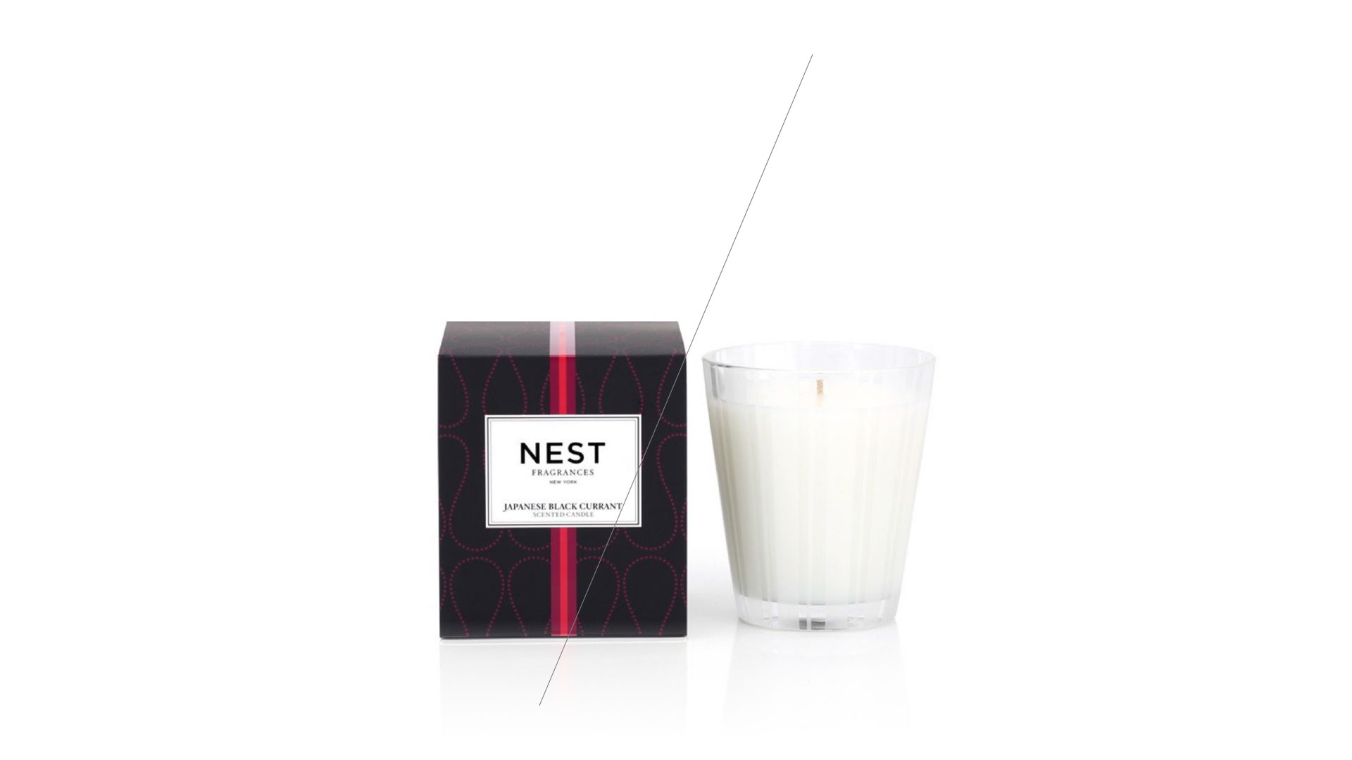 NEST Japanese Black Currant Classic Candle -