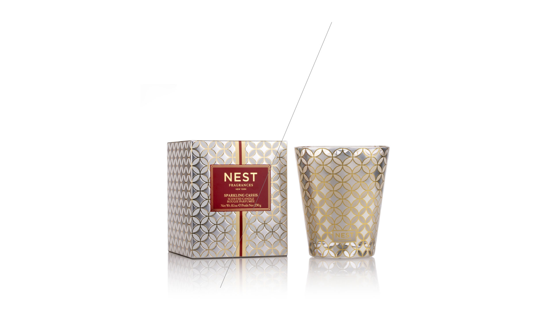 NEST Sparkling Cassis Classic Candle -