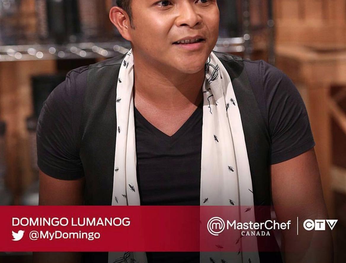 2015 MasterChef Canada Season 3 Domingo Lumanog caught live Episode 2