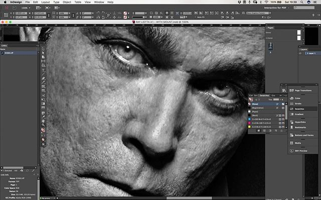 """Yup!!! We work Saturdays!! Sending out this BEAUTIFUL portrait of Ray Liotta by @lionel_deluy - You can see all of our """"Print on Demand"""" & Ltd Edition series at shop.bloodmix.com -  #Exhibition #photography #red #gotham #manchester #interiordesign #interiordesigner #decor #elledecor #art #homedecor #interiordesign #instadeco #decoration #decolovers #vogueliving #homeart #interiordesign #interiordesigners #elledecor #largeformat #prints #photography #fineart #framedphotography"""