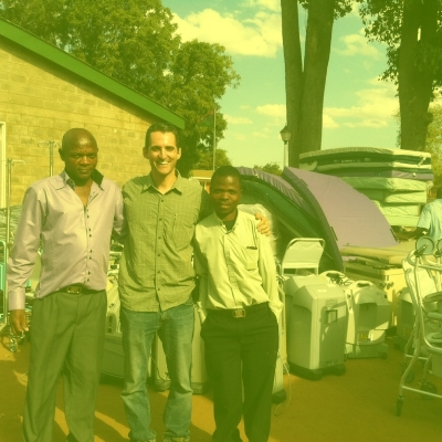 2012-WAM partners with Hope For The City to deliver roughly $250,000 worth of medical supplies and equipment to Kabudula Community Hospital. -