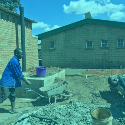 2016-WAM partners with Warm Heart For Malawi to expand and renovate the postnatal ward at Kabudula Community Hospital. -