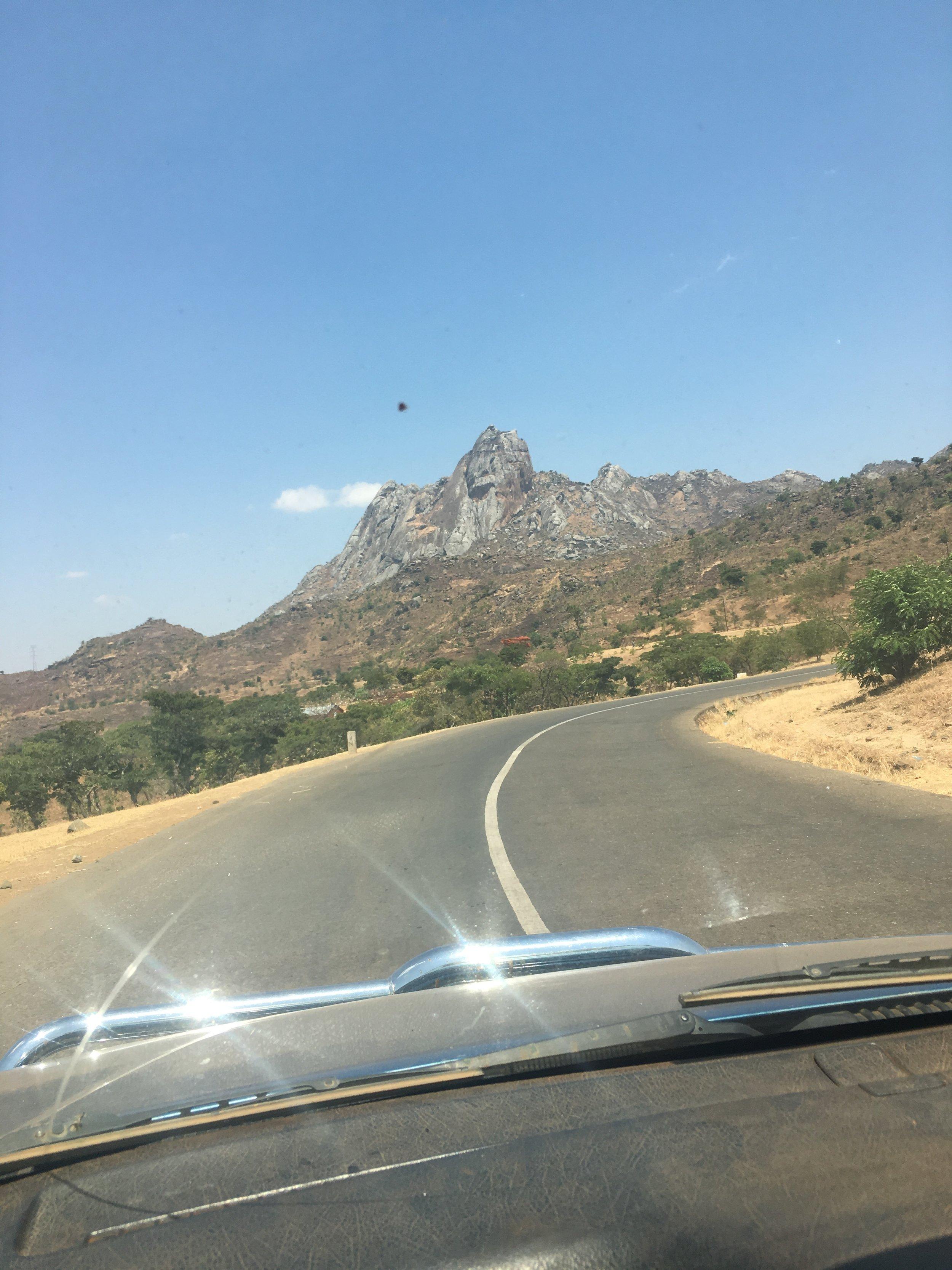 The beautiful drive to Nkhoma Hospital where we operate the Watsi program!