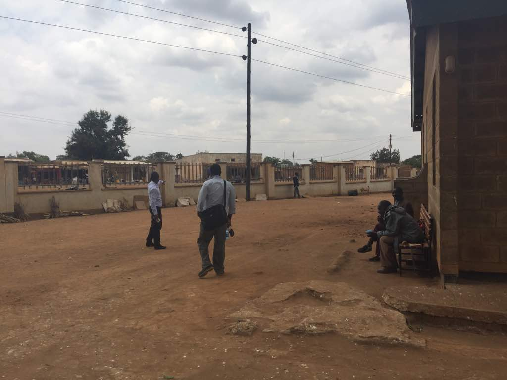The location of the proposed new Trauma Room at Kabudula Community Hospital.