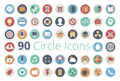 Use icons as well and find free one on www.iconfinder.com