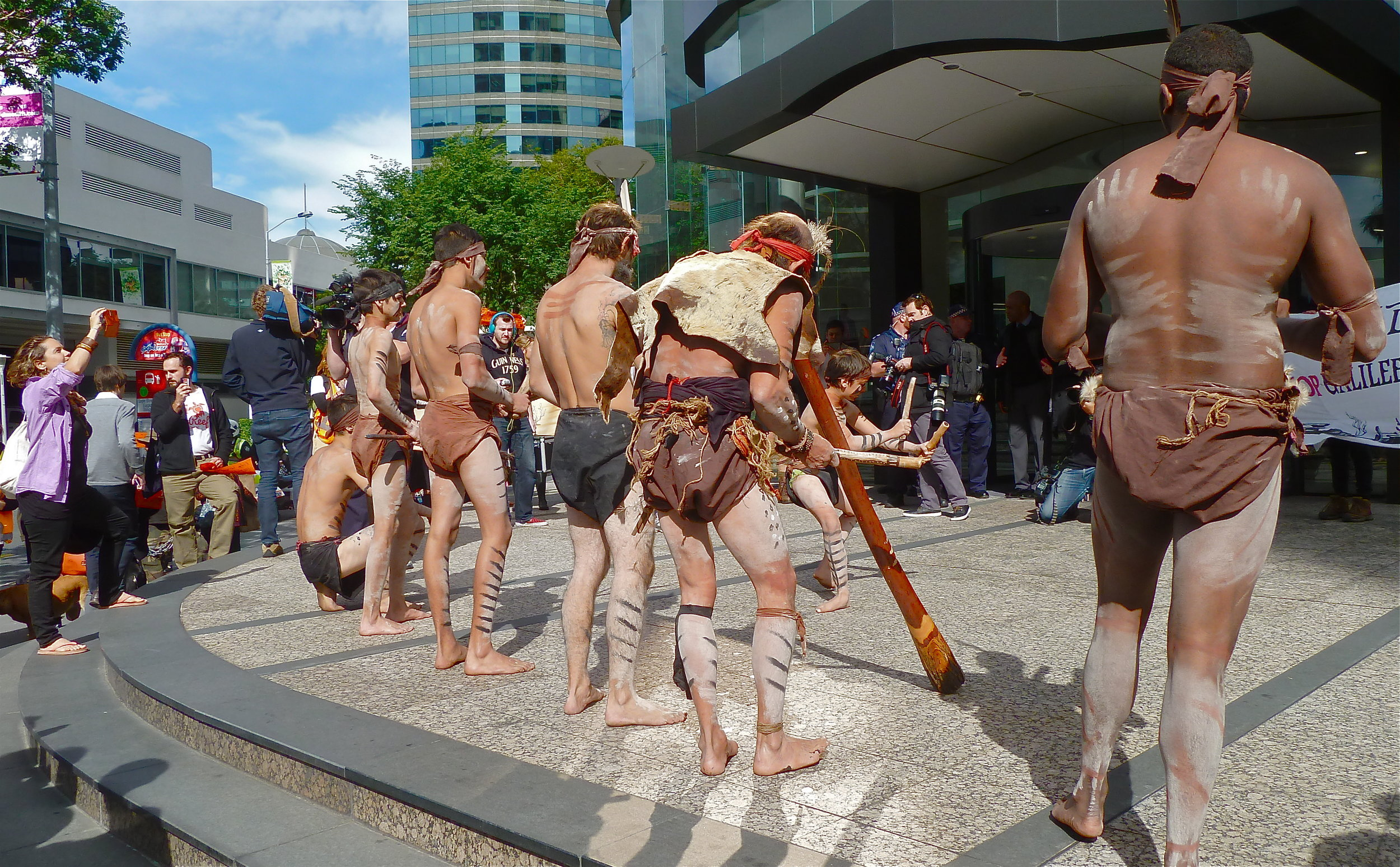 Traditional Owners approach Adani HQ