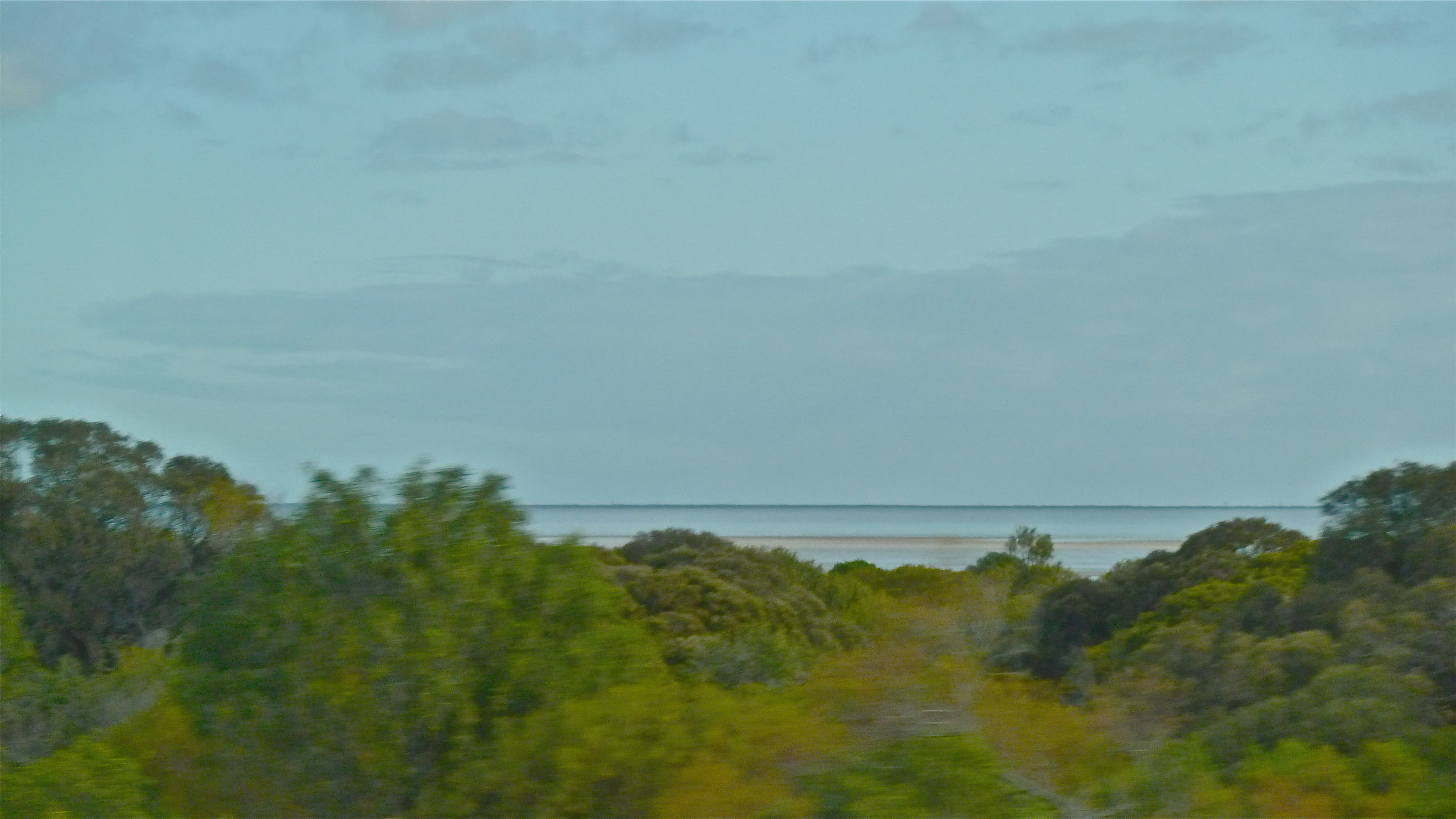 A distant Spencer Gulf