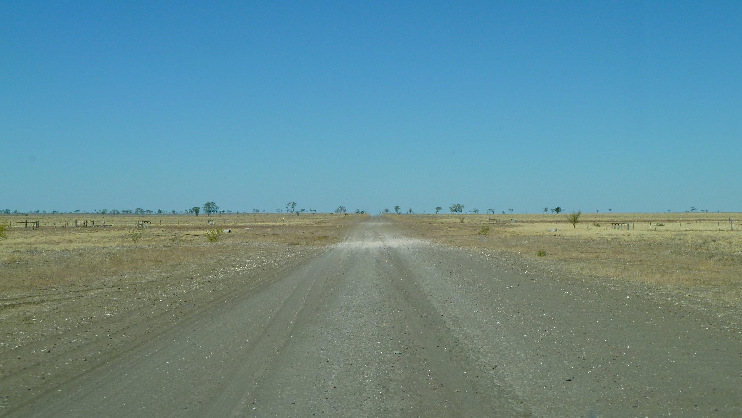 Grass-plains nothingness