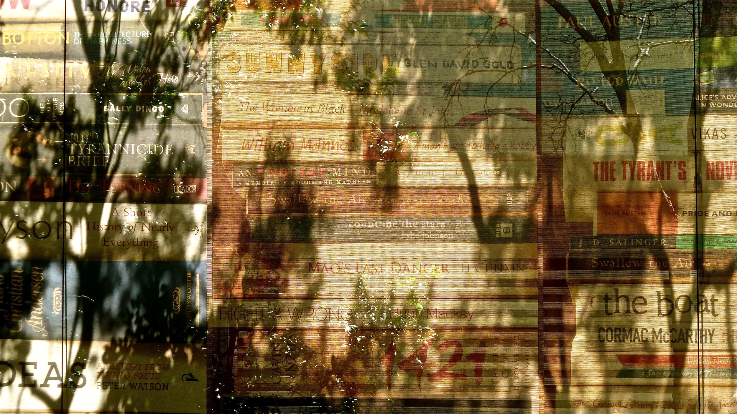 Nov:  Riverbend Books, Bulimba, Queensland