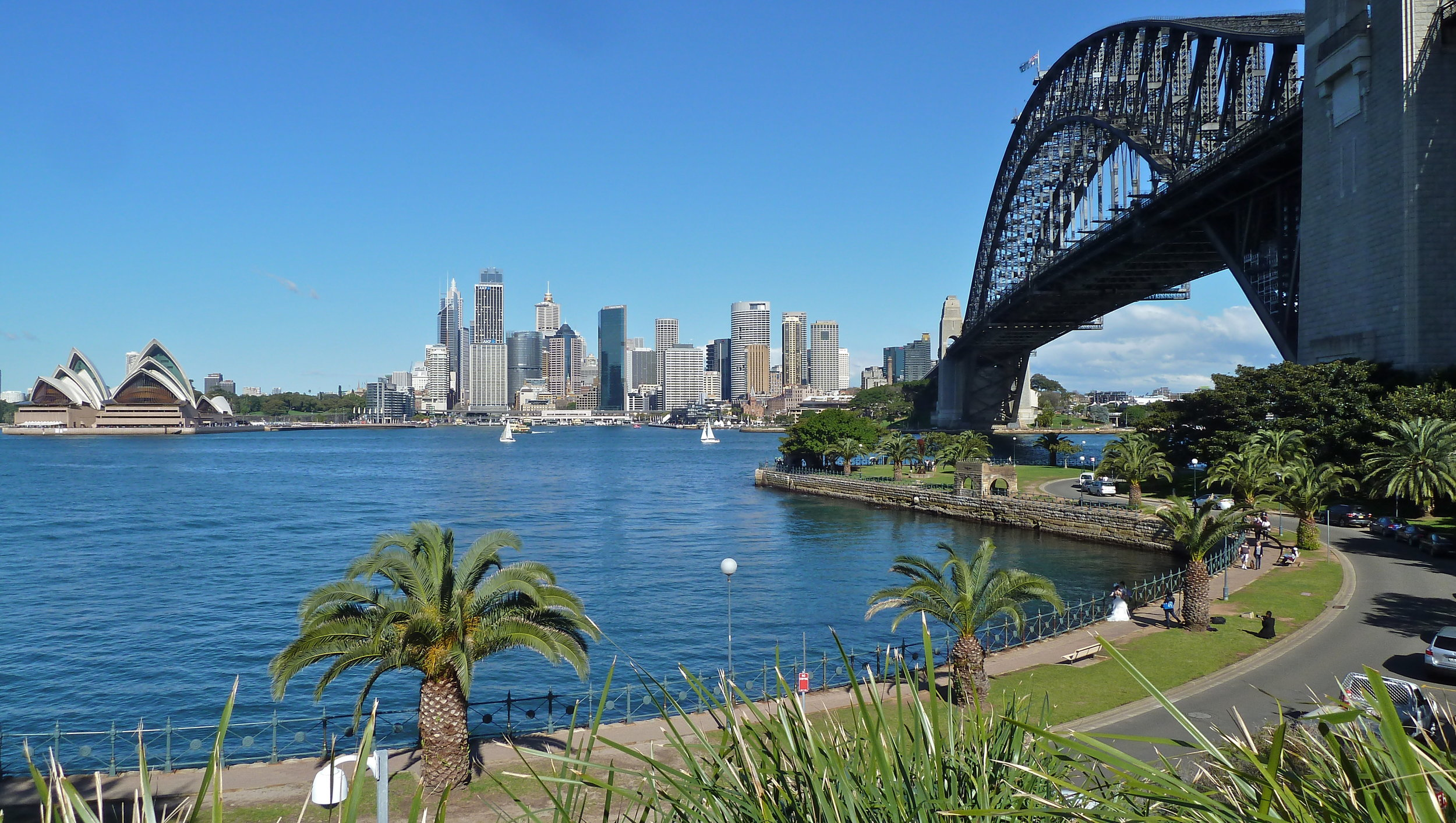 Jul:  Sydney CBD from Milsons Point, North Shore