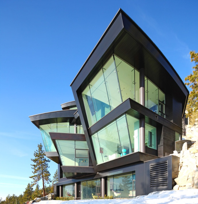 Ski the Future is a triumph of design on the shores of Lake Tahoe.