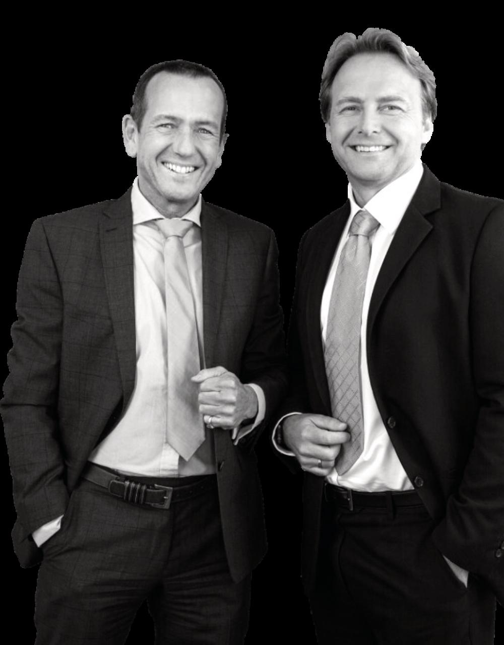 I titolari di Wetag Consulting: Philipp Peter (destra) Ueli Schnorf (sinistra)