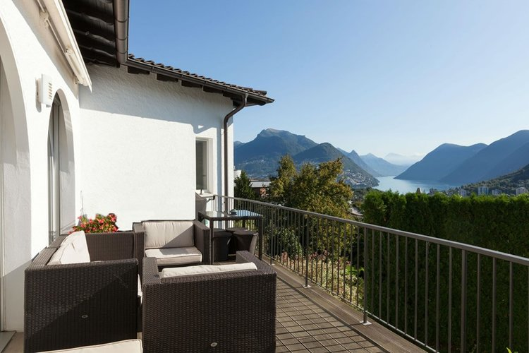 Luxury Real Estate Lugano for sale with swimming pool. Click the image for more information