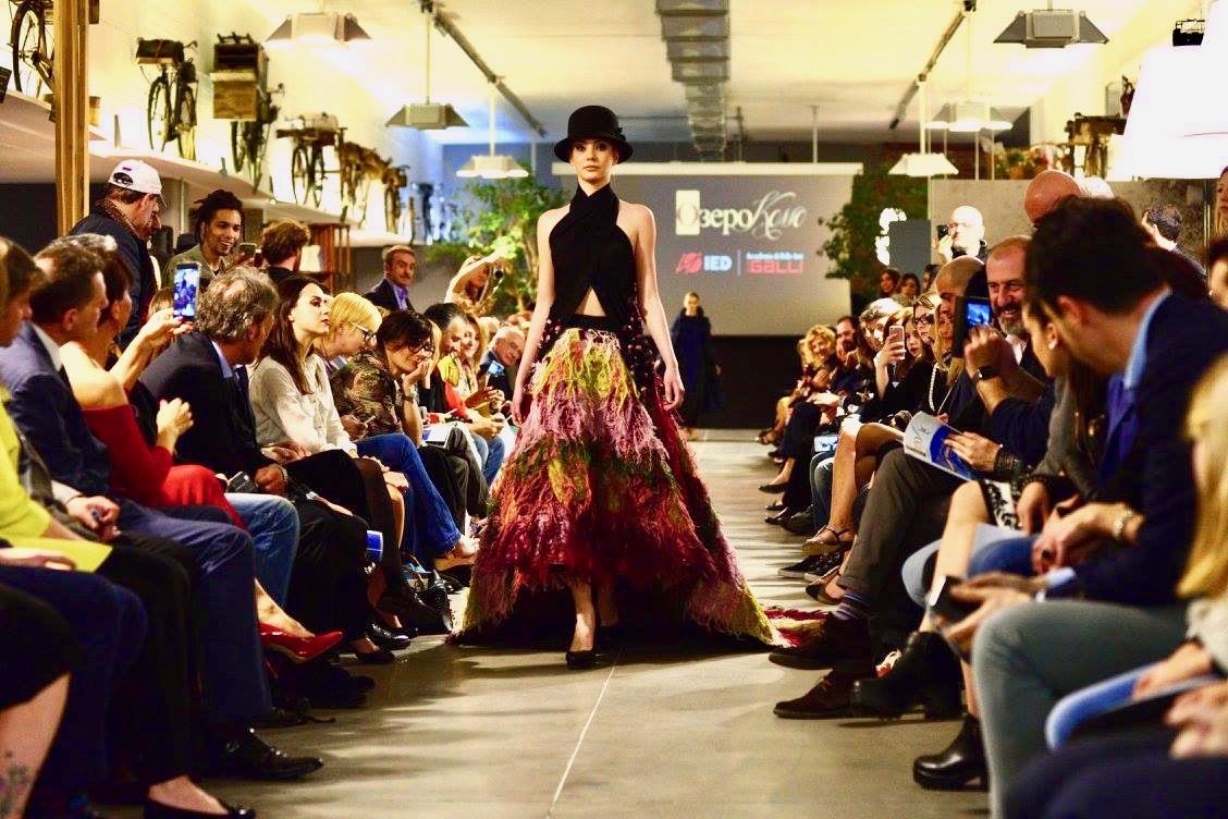 Fashion show at Ozero Como event in Cantù
