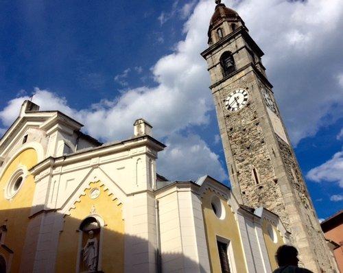 Church of San Pietro e Paolo in Ascona, Ticino, Switzerland