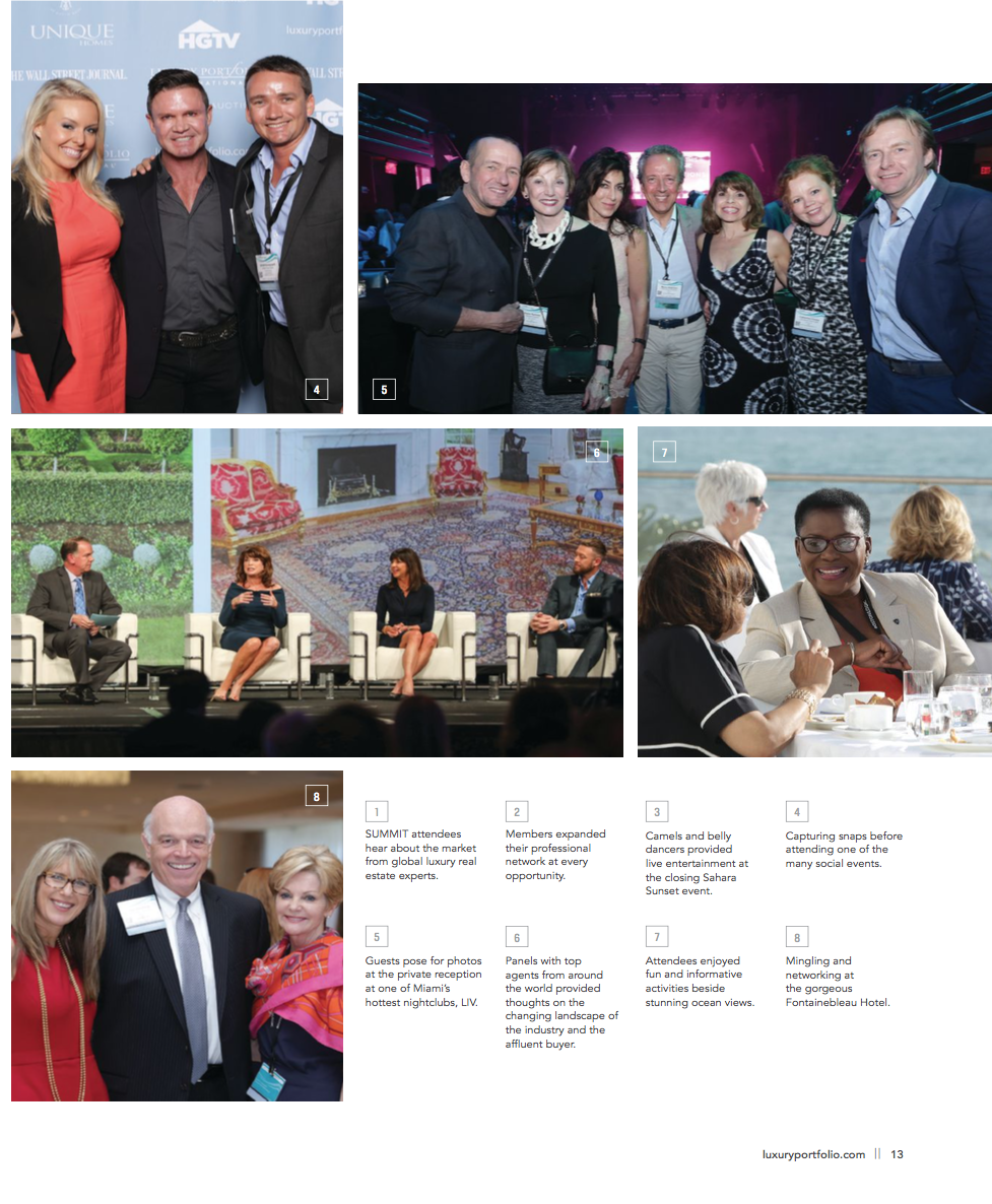 Picture 5 - from left to right: Ueli Schnorf - Founder Wetag Consulting, Diane Ramirez - Founder of Halstead Realty New York, Melanie Delman - Owner Lila Delman Realty Rhode Island (NY), Marco Argentieri - Coffim Realty Verona, Robin.Garceau - Sales Associate & Interior Designer + Cathrine Cloney -Marketing Director Lila Delman Realty Road Island NY, Philipp Peter - Owner Wetag Consulting