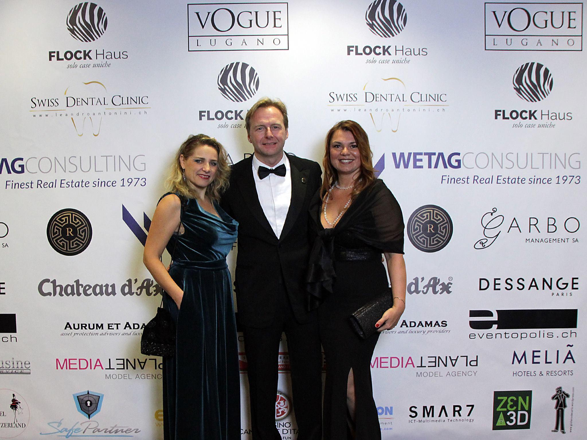 From left: Tatiana Rykoun (Ozero Komo Magazine), Philipp Peter (Wetag Consulting) Elena Sinitsyna (Ozero Komo Magazine)