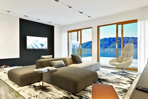 Wohnung mit Terrasse - 4,5 Zimmer, 159 m² Wohnfläche,Terrassenfläche 16 m²Ref. 88554-09CHF 1'860'000