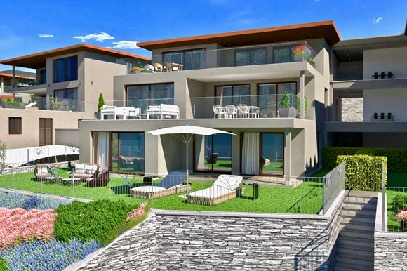 Wohnung mit Terrasse, Garten & Seeblick - 4,5 Zimmer, 179 m² Wohnfläche,Terrassenfläche 38 m² &150 m² GartenflächeRef. 88554-03CHF 1'995'000