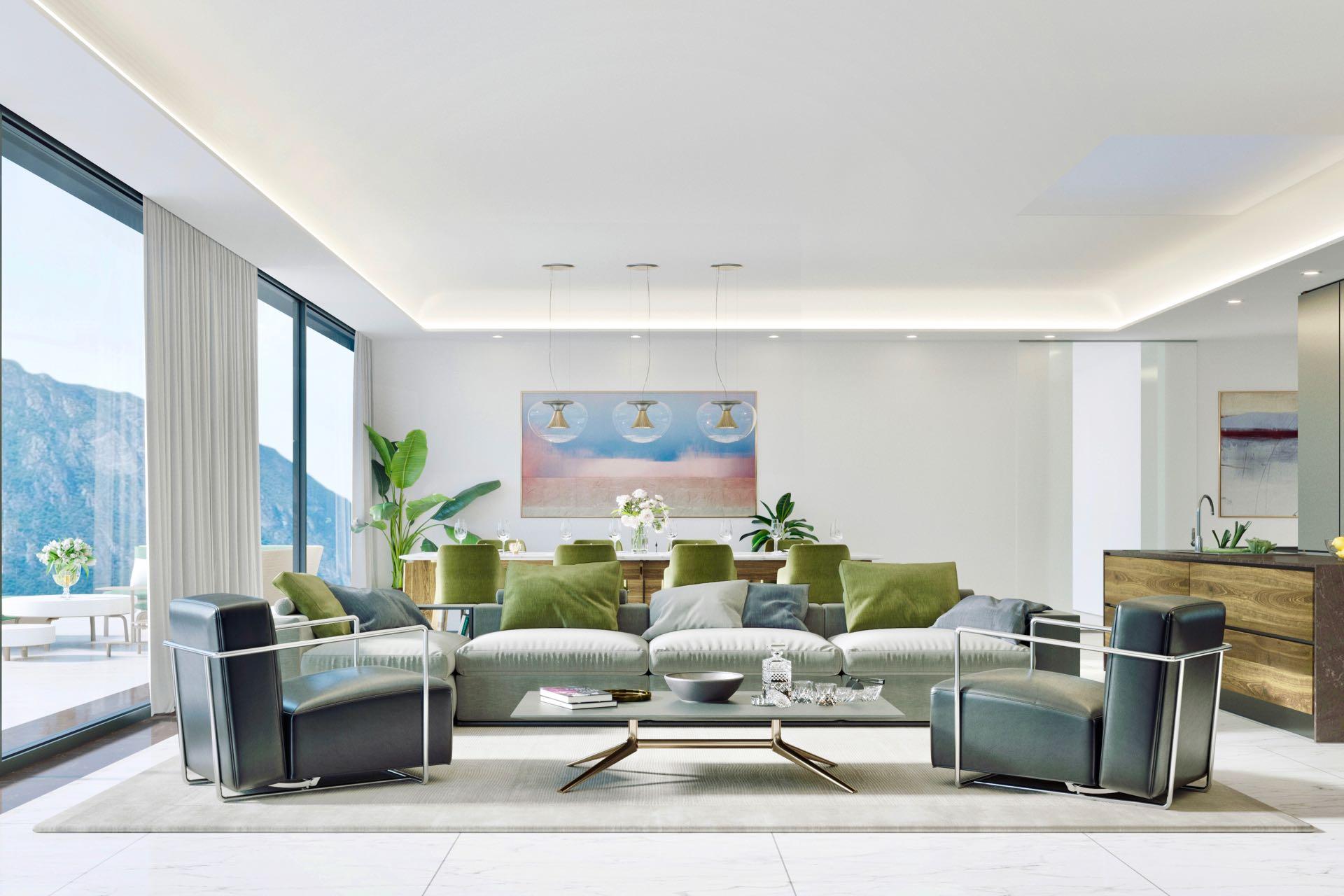 6 Zimmer Penthouse-Wohnung - Wohnfläche ca.: 235 m²Terrassenfläche: 66 m²Schlafzimmer: 3Ref. 88558-3