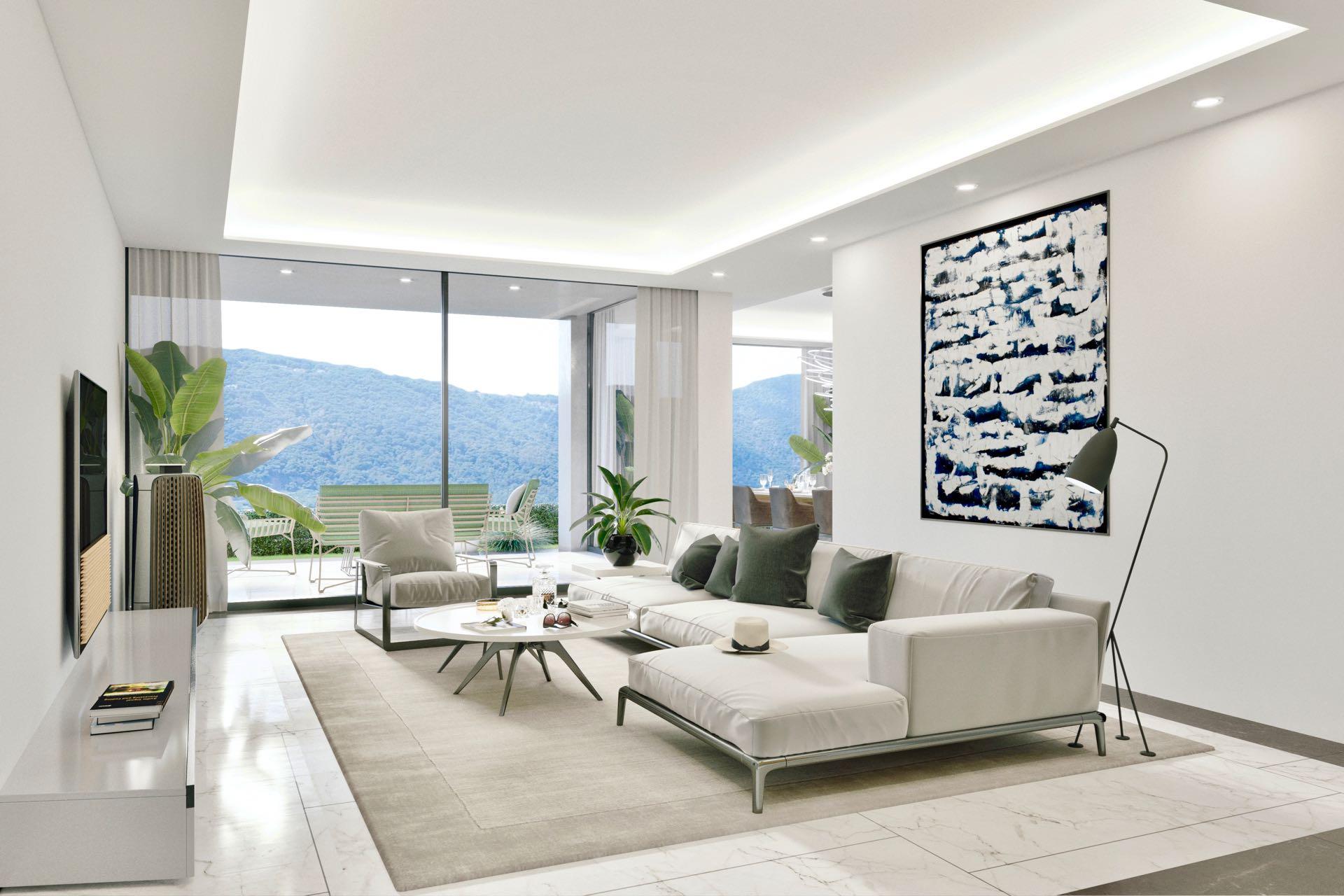 4,5 Zimmer Wohnungen mit Garten - Wohnfläche ca.: 126 m²Terrassenfläche: 17 m²Schlafzimmer: 2Ref. 88558-1