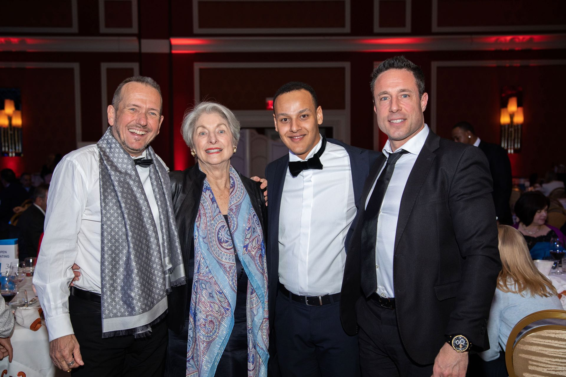 From left to right: Ueli Schnorf / Owner Wetag Consulting, Michael Sunders / Owner Michael Sunders Real Estate, Massimiliano Kapeen / Senior Consultant Wetag Consulting, Iradj Alexander-David / Director Locarno Ascona Wetag Consulting