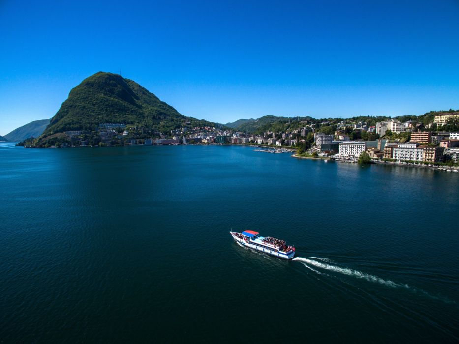 Lake cruise on Lake Lugano