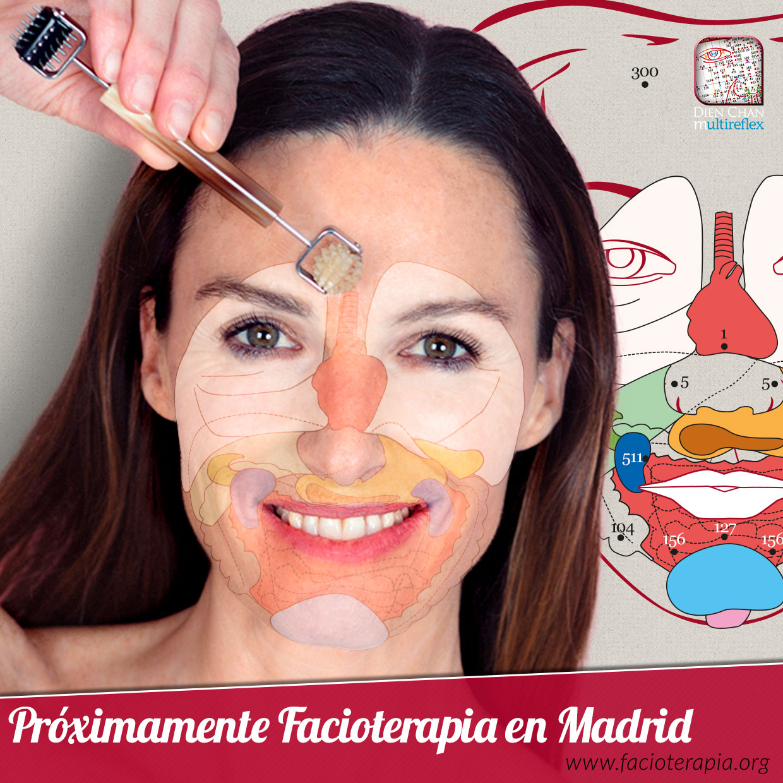 Madrid - Curso de reflexología facial vietnamita de nivel básico.1 y 2 de julio 2017.