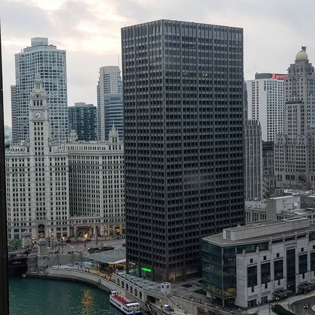 Inspiration is all around us.  The view from @swissotelchi is 👌😍