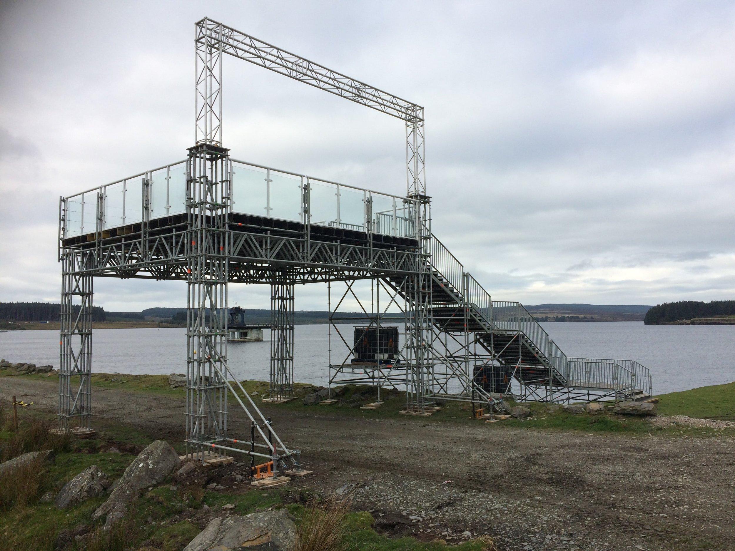 Bespoke temporary platform design