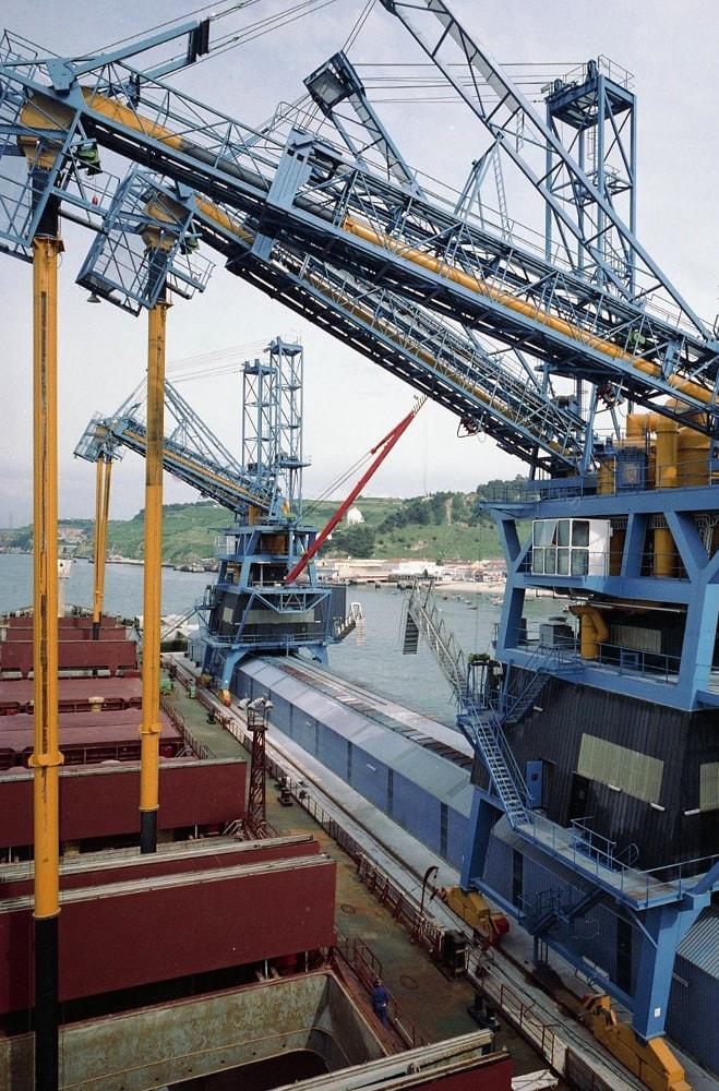 port of trafaria grain terminal