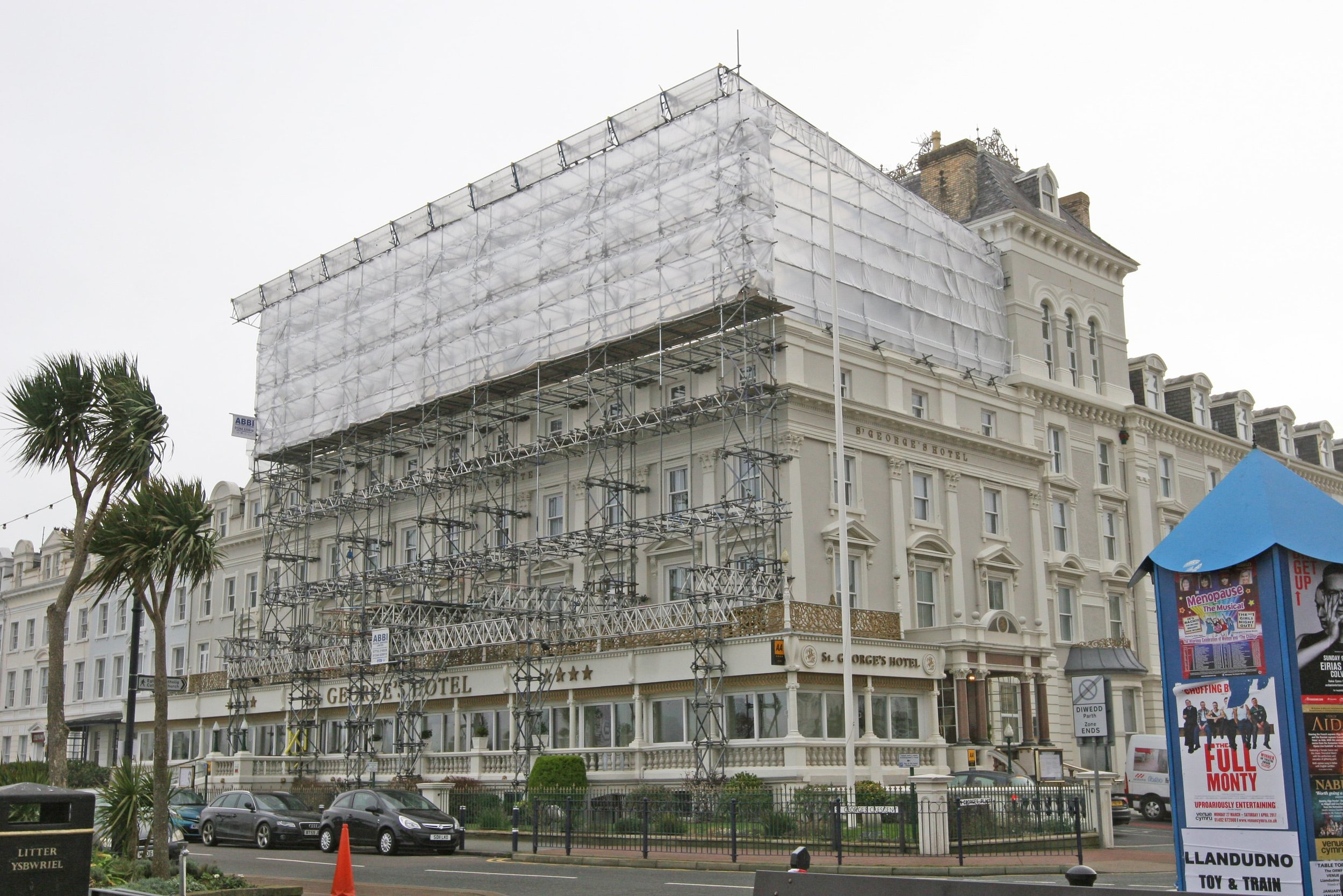 Temporary works scaffolding design
