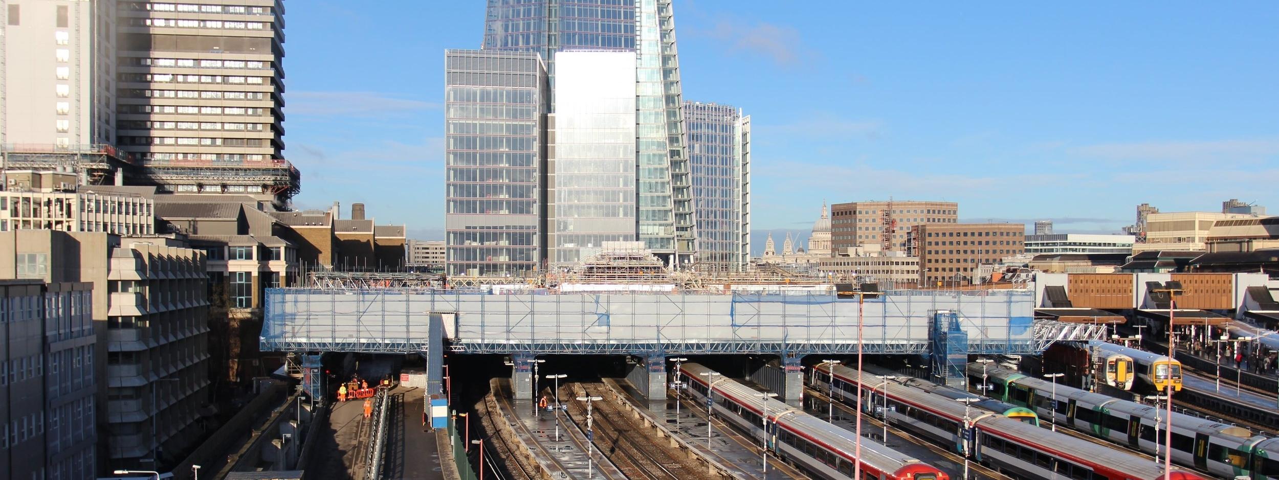 Scaffolding design for Network Rail at London Bridge Station