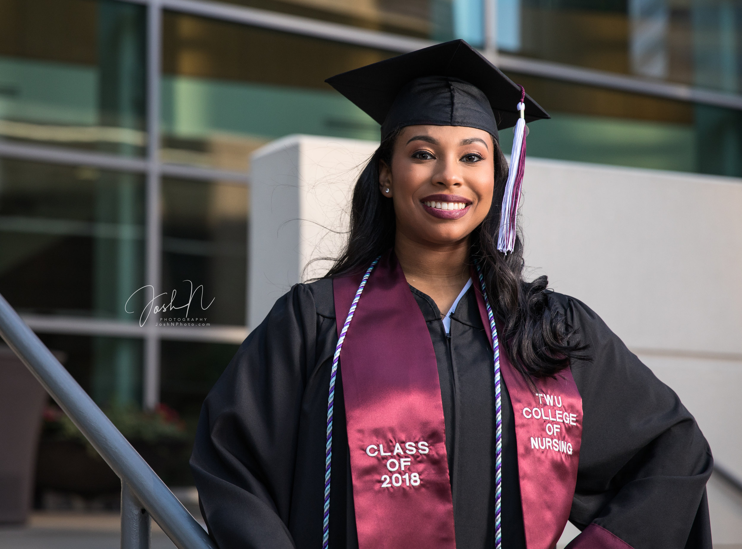 Texas Women's Univeristy Nursing School Graduation Photos3.jpg