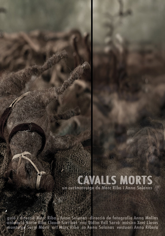 CAVALLS MORTS. Marc Riba, Anna Solanas