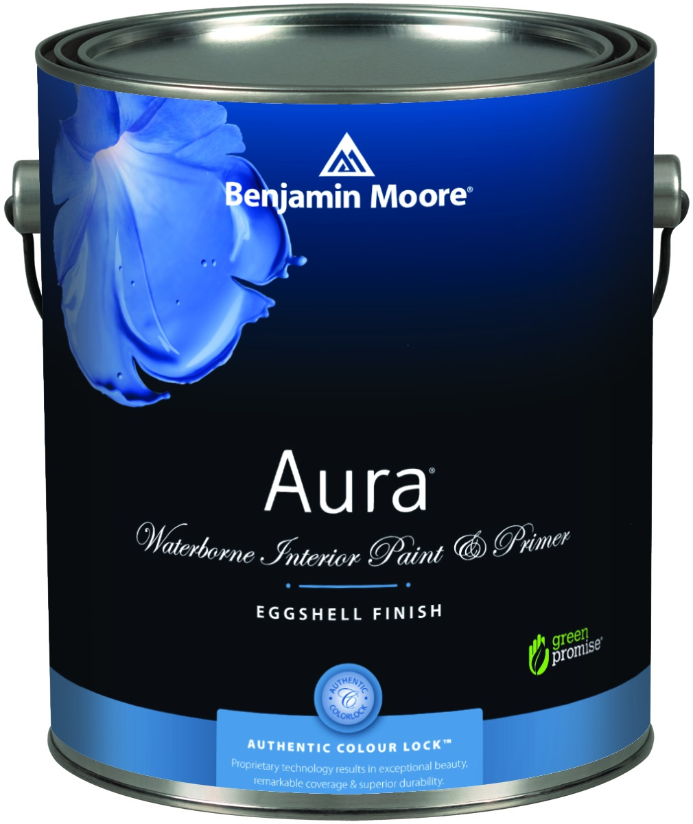 AURA®WATERBORNE INTERIOR PAINT - Aura delivers remarkable durability and offers the most advanced way to bring colour to life. Using our exclusive Colour Lock™ technology, Aura paint brings you discernibly richer, truer colour. Visibly thicker, Aura paint covers like no other—even in the deepest shades.