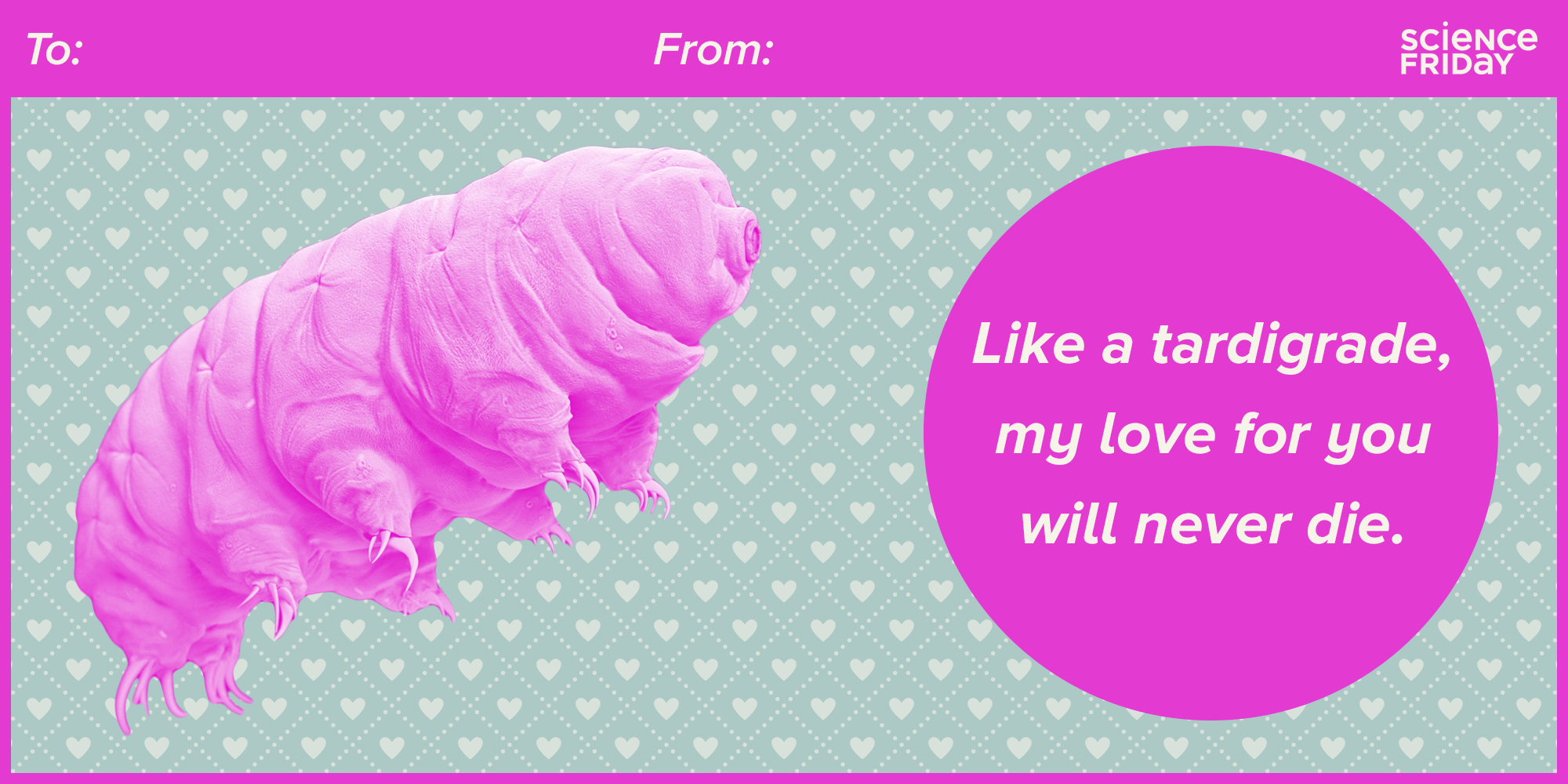 from Science Friday's 2017 Science Valentines