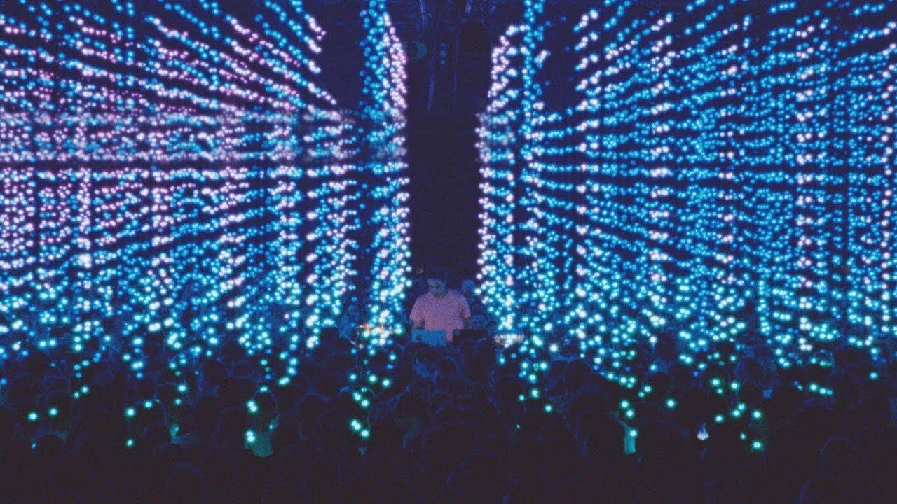 Four Tet's 40,000-light installation at Alexandra Palace  (Source: Residentadvisor.net)