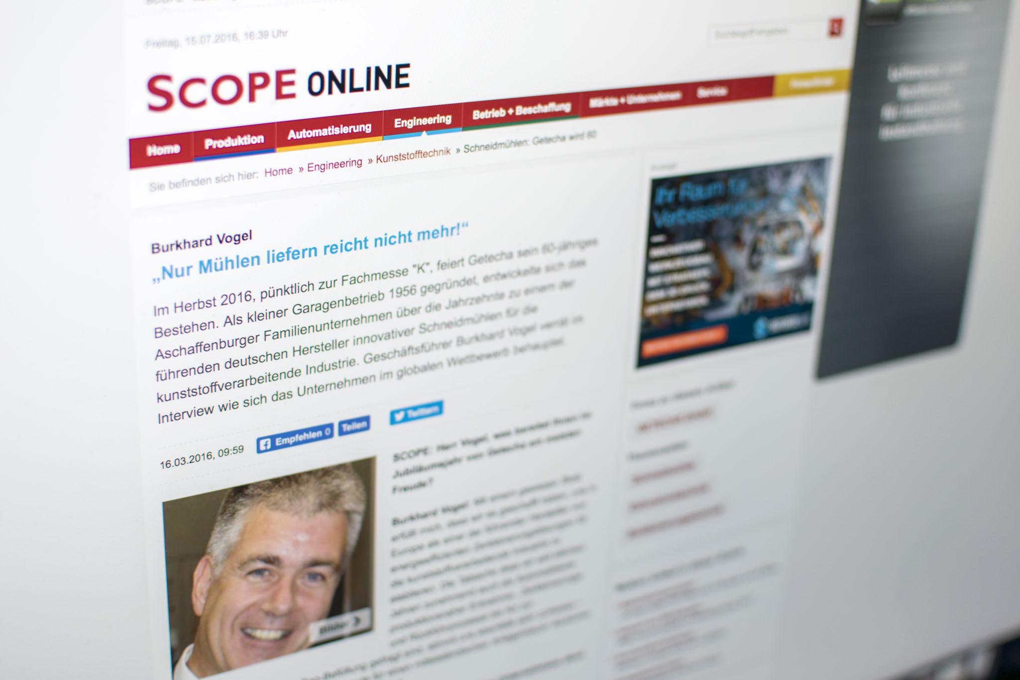 Zahlreiche Onlinepublikationen