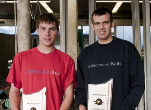 Die Lehre gemacht und den Staatspreis gewonnen - Manuel Spiegel und Philipp Gunz