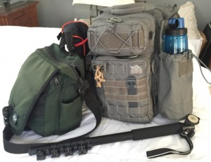 Vanquish and Eagle Creek Bags