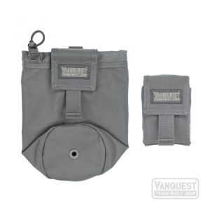 collapsible water bottle pouch. [Vanquest image]