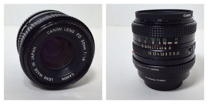 Canon FD 50mm Lens